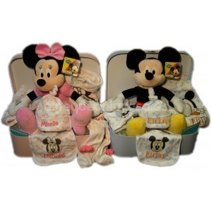 Cesta gemelar Disney Mickey y Minnie