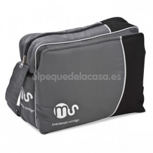 Bolso maternal MS gris