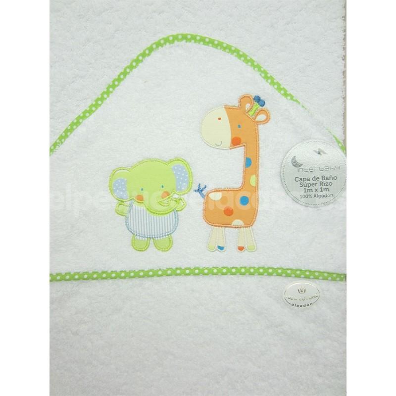 Capa de ba o para beb super rizo interbaby selva - Capa bano bebe ...