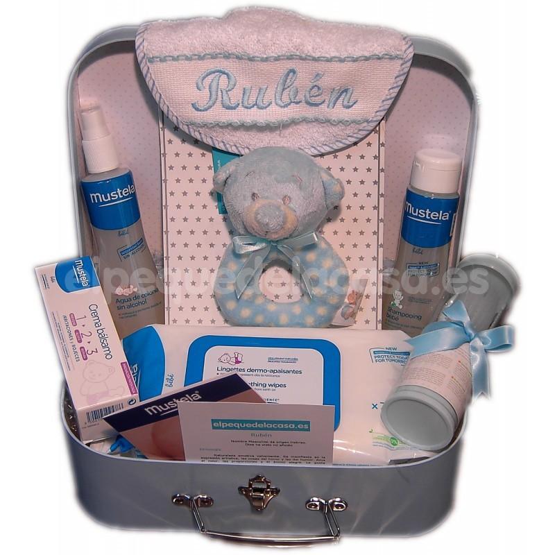 62907d443 Completo maletín para bebé