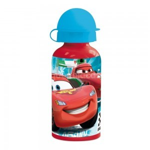 Cantimplora 500 ml aluminio Cars