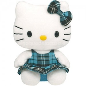 Hello kitty peluche con vestido 15 cm