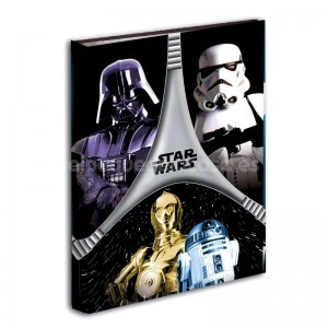 Carpeta Star Wars anillas