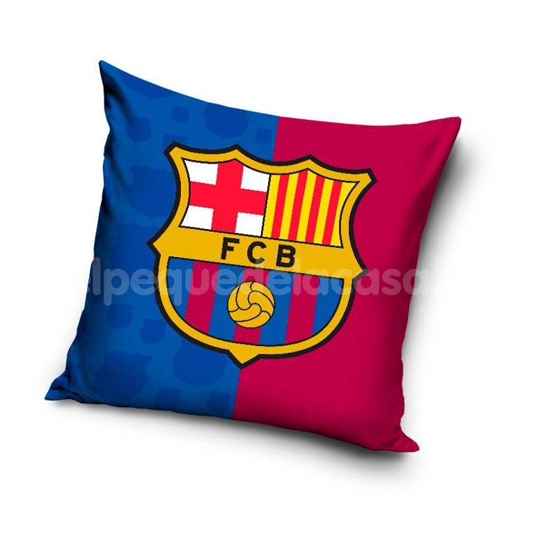 Cojín cuadrado F.C. Barcelona 26dcee3918f