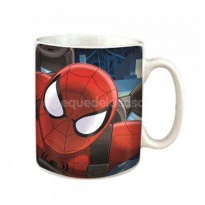 Taza 320 ml con caja Spiderman