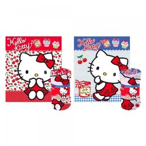 Manta Polar Hello Kitty dulces y mermeladas