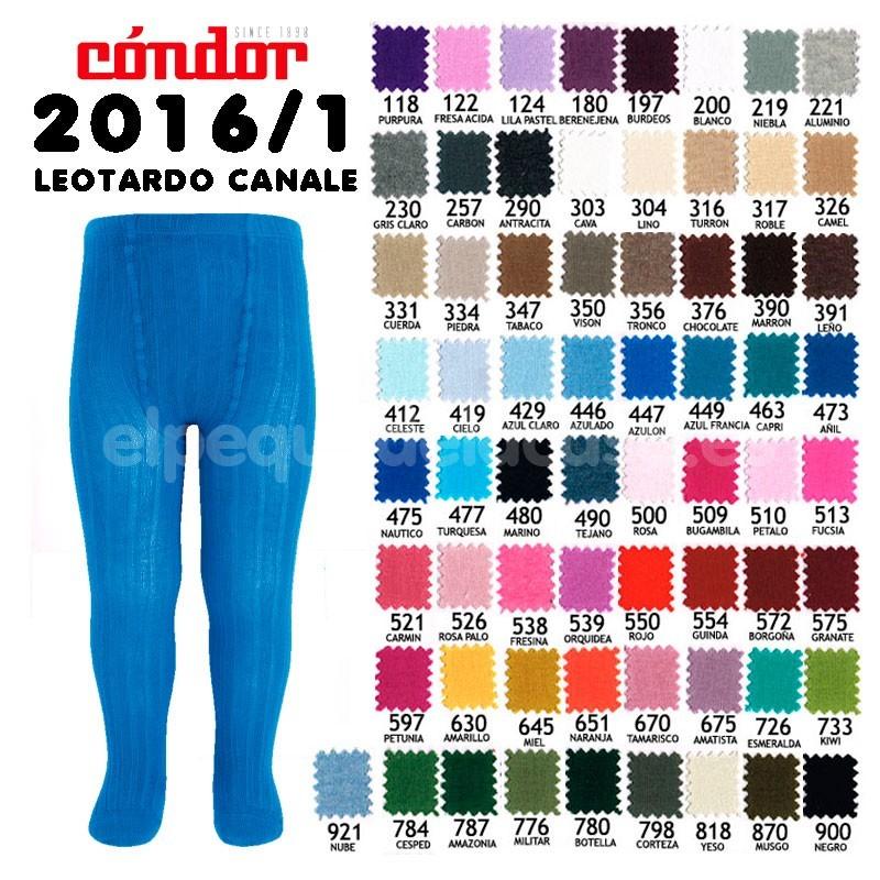 Leotardos canal c ndor for Colores condor