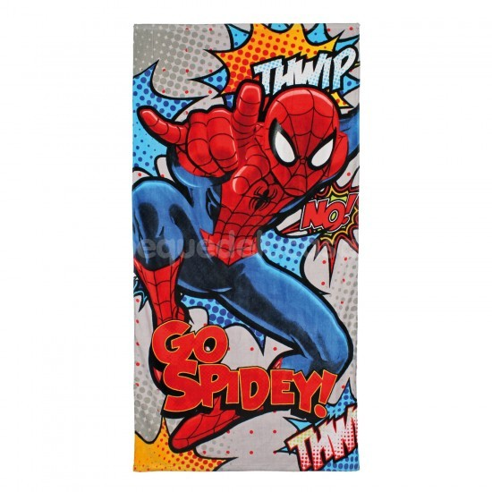 Toalla Spiderman Go