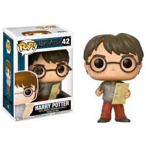 FIGURA POP HARRY POTTER CON MAPA DE MERODEADOR