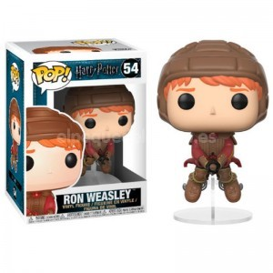 FIGURA POP HARRY POTTER RON WEASLEY EN ESCOBA