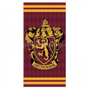 TOALLA HARRY POTTER CASA GRYFFINDOR